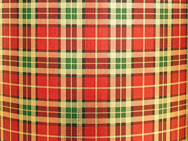 """Rich Plaid Wrapping Paper 26"""" x 417', Half Ream Roll"""