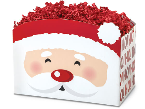 Large Santa Basket Boxes 10-1/4x6x7-1/2""