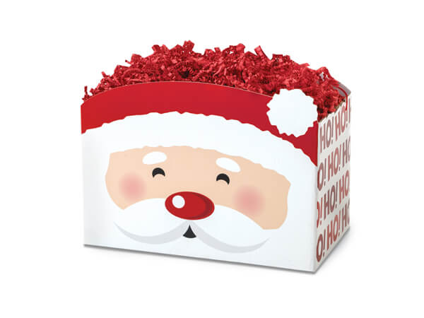 Small Santa Basket Boxes 6-3/4x4x5""