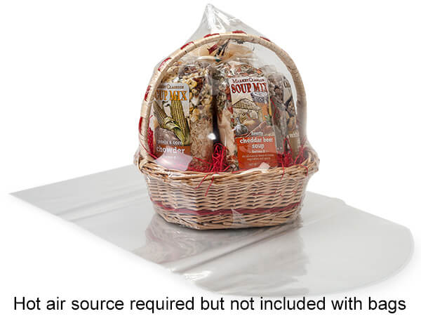 "14 x 20"" Dome Shrink Basket Bag"
