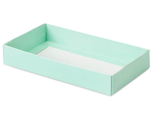 """Aqua Slide Open Candy Box Base, 8x4.25x1.25"""", 100 Pack"""