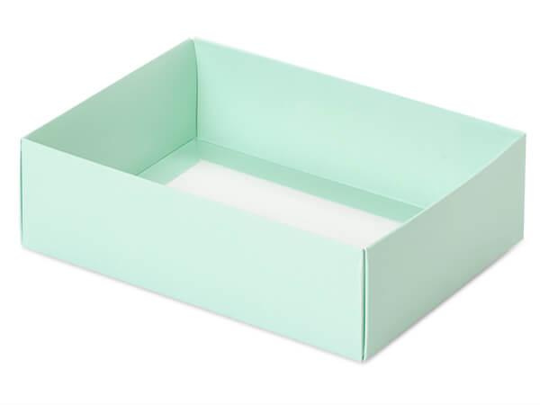 """Aqua Slide Open Candy Box Base, 6.75x4.75x2"""", 100 Pack"""