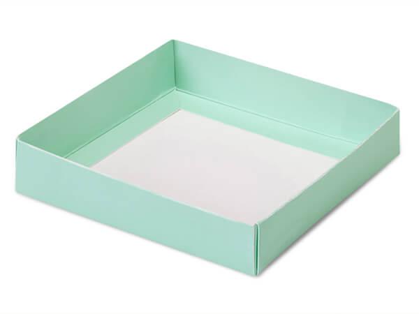 """Aqua Slide Open Candy Box Base, 5.5x5.5x1"""", 100 Pack"""
