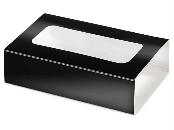 "Black Slide Open Candy Box Sleeve, 5x2.75x1"", 100 Pack"