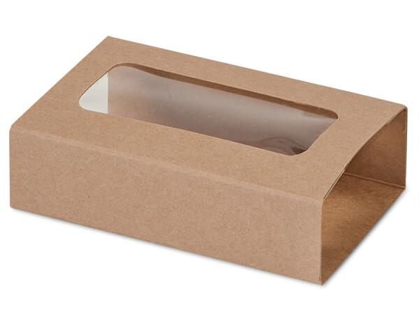 "Kraft Slide Open Candy Box Sleeve, 5x2.75x1.25"", 100 Pack"
