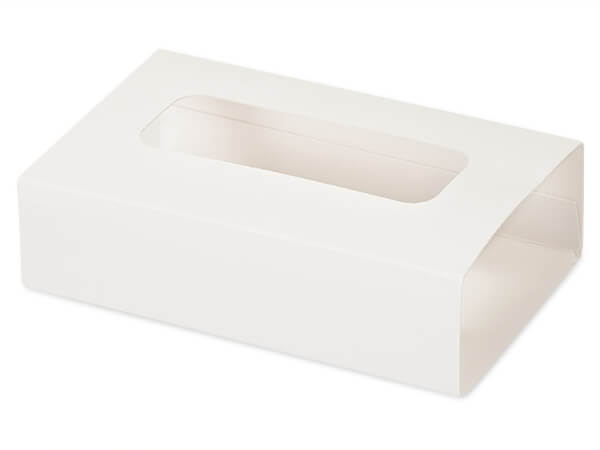 """White Slide Open Candy Box Sleeve, 5x2.75x1.25"""", 100 Pack"""