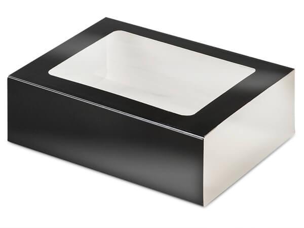 "Black Slide Open Candy Box Sleeve, 6.75x4.75x2"", 100 Pack"