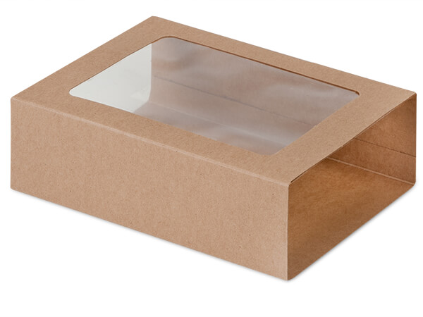 "Kraft Slide Open Candy Box Sleeve, 6.75x4.75x2"", 100 Pack"
