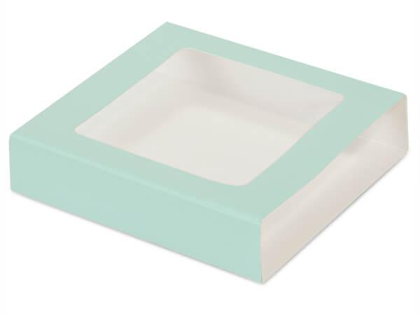 "Aqua Slide Open Candy Box Sleeve, 5.5x5.5x1"", 100 Pack"