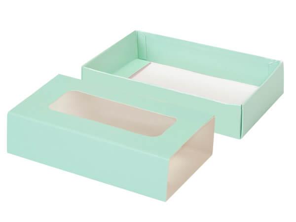 """Aqua Slide Open Candy Box Set, 5x2.75x1.25"""", 20 Pack"""