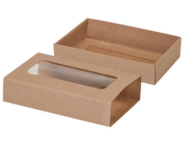 """Kraft Slide Open Candy Box Set, 5x2.75x1.25"""", 20 Pack"""