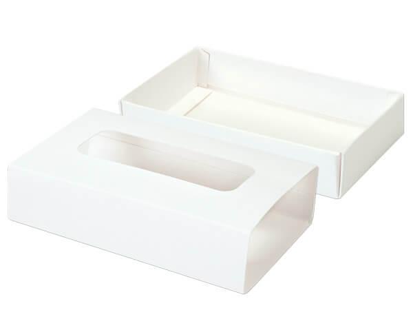 "White Slide Open Candy Box Set, 5x2.75x1.25"", 20 Pack"