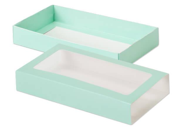 """Aqua Slide Open Candy Box Set, 8x4.25x1.25"""", 20 Pack"""