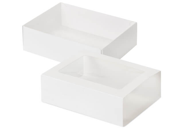 White Slide Open Candy Boxes