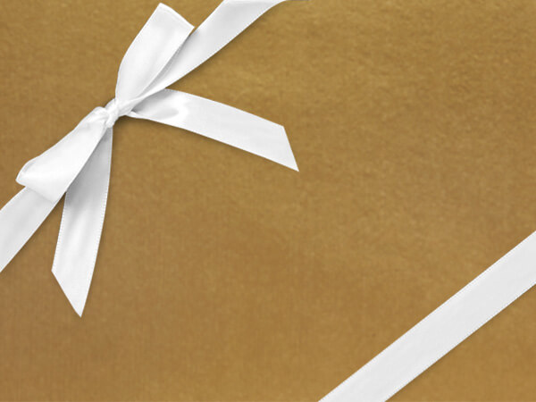 "Celebrity Gold  24"" x 417' Half Ream Roll Gift Wrap"