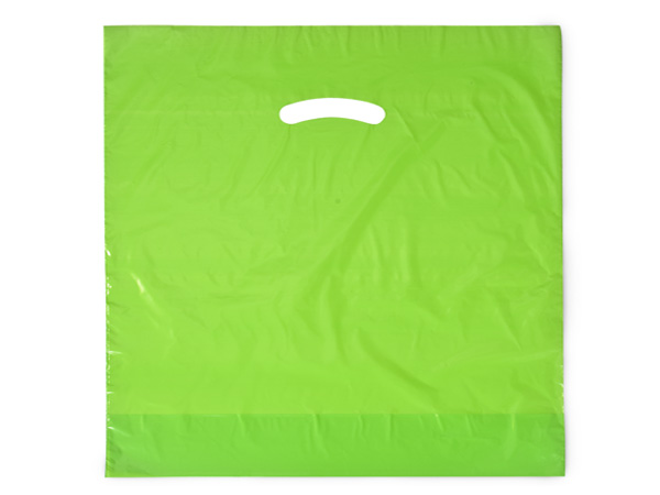 """Citrus Super Gloss Bags 20x20x5"""" Recycled Plastic Bags 1.50 mil"""