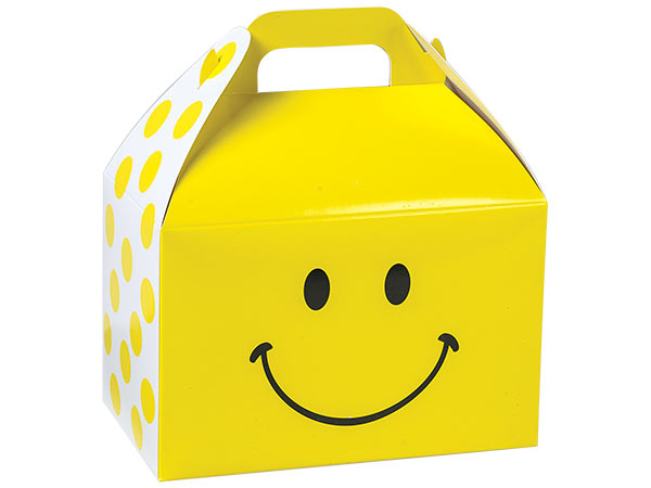 Smiley Gable Boxes 8.5 x 4.75 x 5.5""