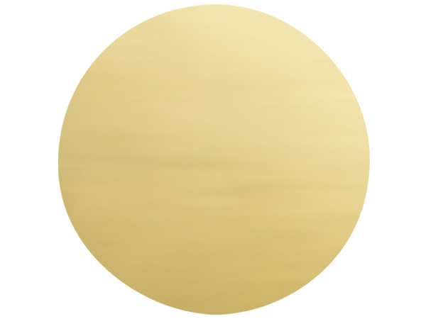 "500 Metallic Gold Round 1-1/2"" Foil Seals"