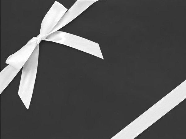 "Black Beauty  26"" x 417' Half Ream Roll Gift Wrap"