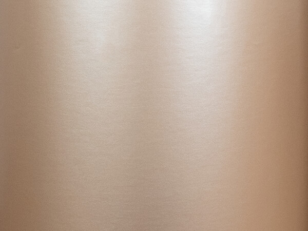 """Champagne Pearl Wrapping Paper 24"""" x 417', Half Ream Roll"""