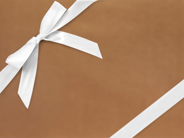 "Bronze  30"" x 417' Half Ream Roll Gift Wrap"