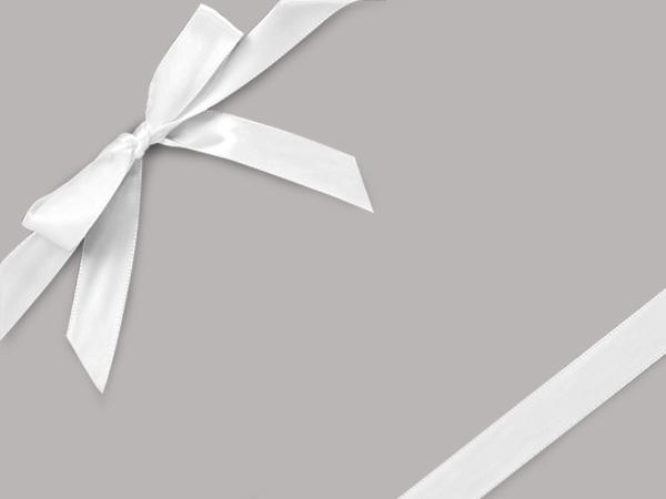 """White Shursheen  24"""" x 833' Full Ream Roll Gift Wrap"""