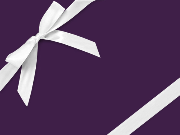 """Purple Velvet Touch Wrapping Paper 30"""" x 417', Half Ream Roll"""
