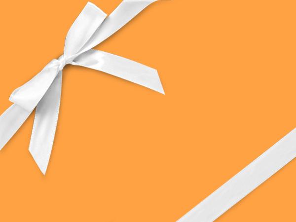 "Flourescent Yellow Velvet 30""x417' Half Ream Roll Gift Wrap"