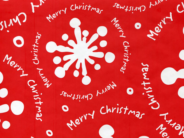 """Christmas Gale Stone Wrap 30""""x85' Gift Wrap Cutter Roll"""