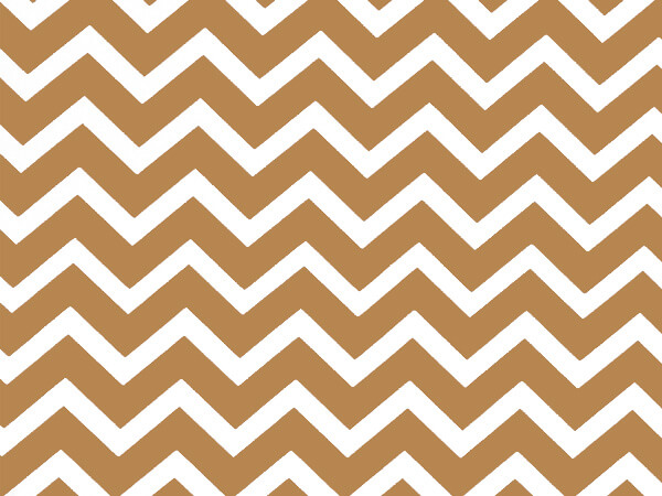 "Gold Chevron Stone Wrap 30""x417' Gift Wrap Counter Roll"