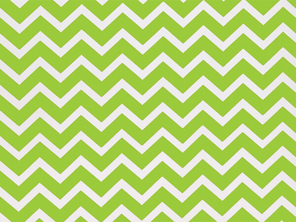 "Lime Chevron Stone Wrap 30""x85' Gift Wrap Cutter Roll"