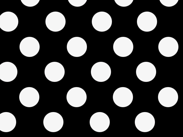 "Black Dots Stone Wrap 30""x417' Gift Wrap Counter Roll"