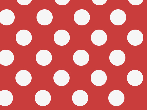 "Red Dots Stone Wrap 30""x417' Gift Wrap Counter Roll"