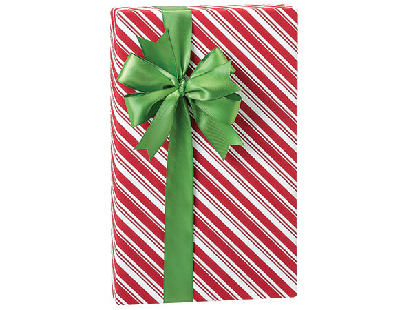 """*Peppermint Sticks Stone Wrapping Paper, 30""""x150' Large Roll"""