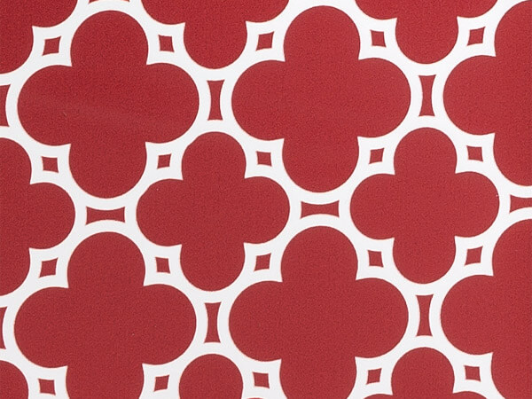 """Red Tiles Stone Wrap 30""""x417' Gift Wrap Counter Roll"""