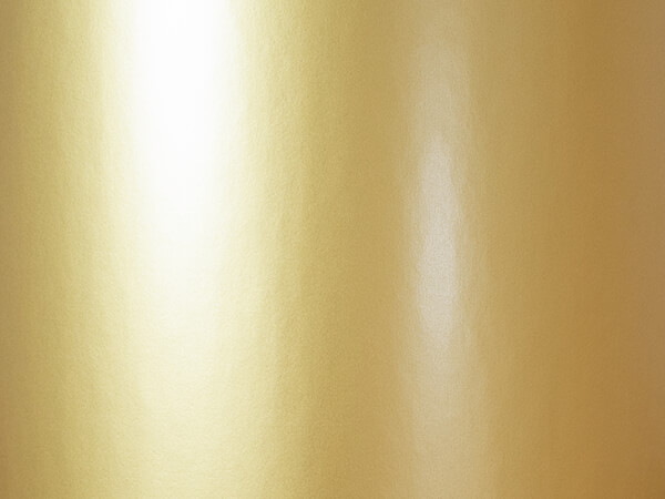 """Yellow Gold Wrapping Paper 24"""" x 417', Half Ream Roll"""