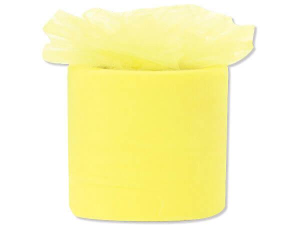 "Lemon Tulle Ribbon, 3"" X 50 yds"