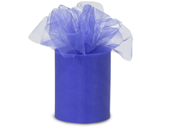 "*Royal Blue Tulle Ribbon, 3""x25 yards"