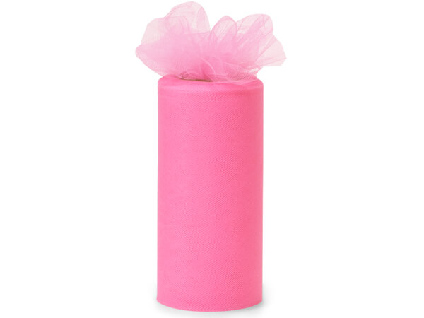 Paris Pink Tulle Ribbon