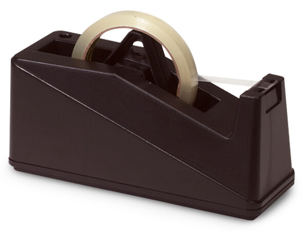 Weighted Desktop Tape Dispenser, 3 inch Tape Core