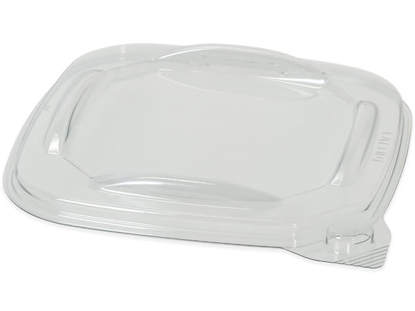Tamper Evident Square Deli Lid, One Size Fits All, 400 Pack