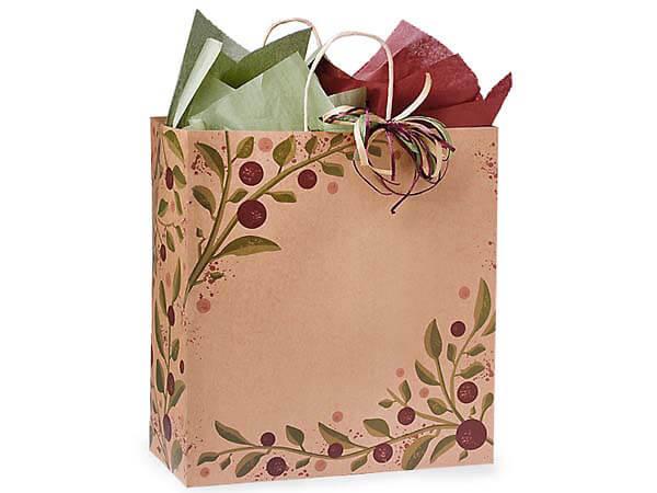 """Regal Tuscan Harvest Paper Bags 200 Pk 14-1/2x9x16-1/4"""""""