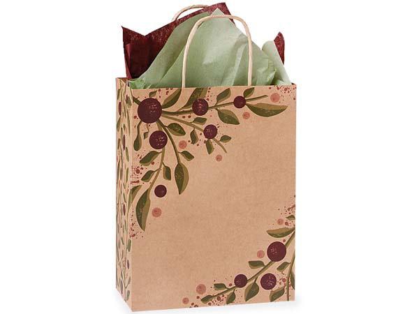 "Cub Tuscan Harvest Paper Bags 25 Pk 8x4-3/4x10-1/4"""