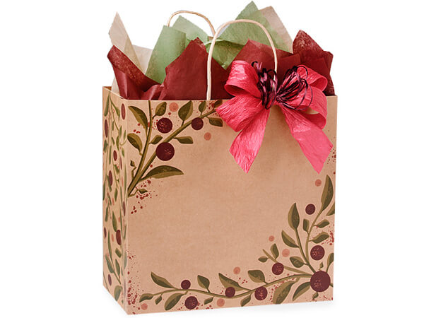 Filly Tuscan Harvest Paper Bags 25 Pk 13x7x13""