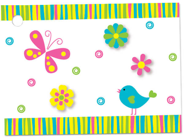 Thanks In Bloom Theme Gift Cards 3-3/4x2-3/4""