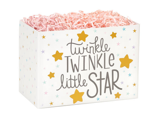"Twinkle Little Star Basket Boxes, Small 6.75x4x5"", 6 Pack"
