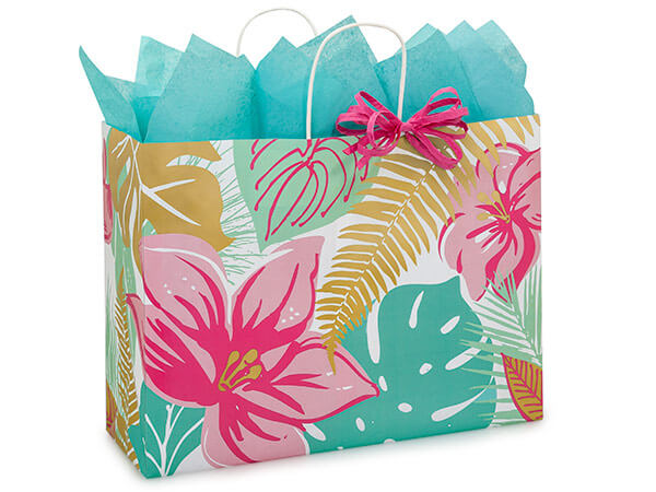 Vogue Tropical Paradise Bags 200 Pk 16x6x12-1/2""