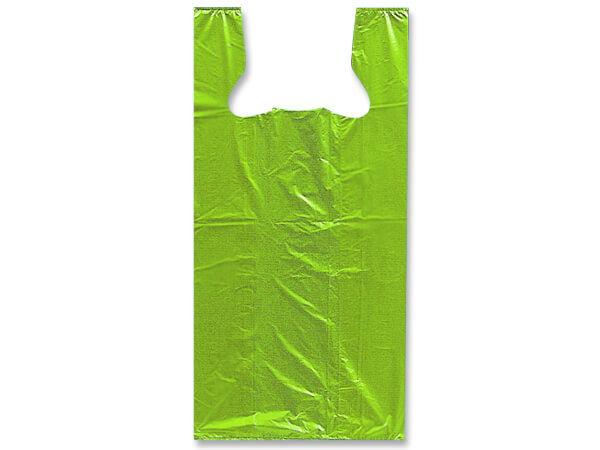 "Citrus Recycled Plastic T Sack, Medium11.5x6.5x21.5"", 1000 Pack"