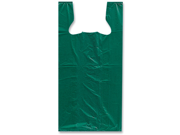 "Green Recycled T Sacks 11-1/2x6-1/2x21-1/2"" .60 mil Medium"