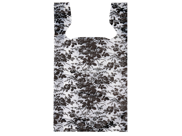 "Floral Toile T Sacks .65 Mil 11.5x6.5x22"" Printed 2 Sided"